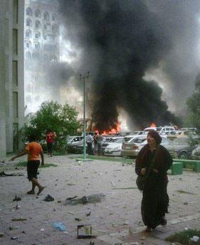 أم كرار من بغداد تصف للرابطة العراقية التفجيرات الوحشية هذا اليوم - صور جديدة