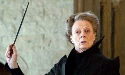 another badass old lady (Professor McGonagall, Harry Potter)