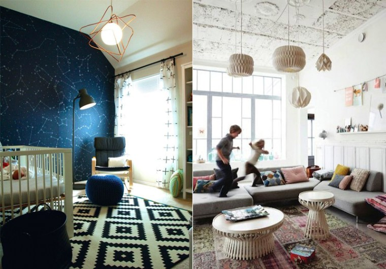 Оформление детской комнаты, советы декоратора Danya May, освещение