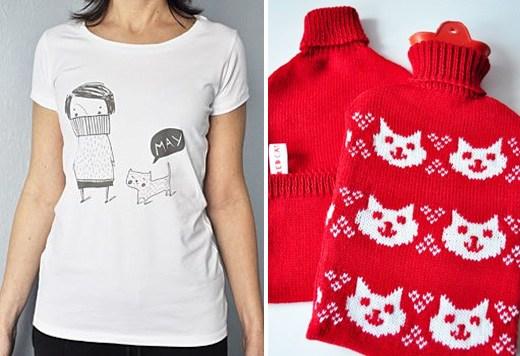 футболка и грелка redcatshop