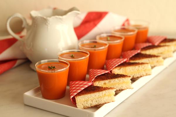 tomato soup decoration