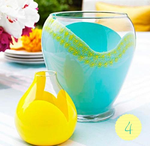 vase diy - яркая красочная ваза своими руками via sunniest.ru