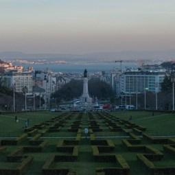 Eit av dei mange Miradouroane (utkikkspunkt) i Lisboa