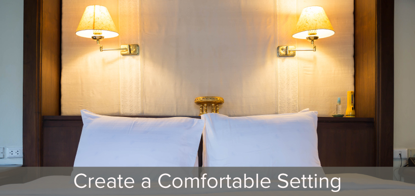 Comfortable Settings in Bedroom