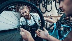 Wir pflegen und reparieren eure Fahrräder