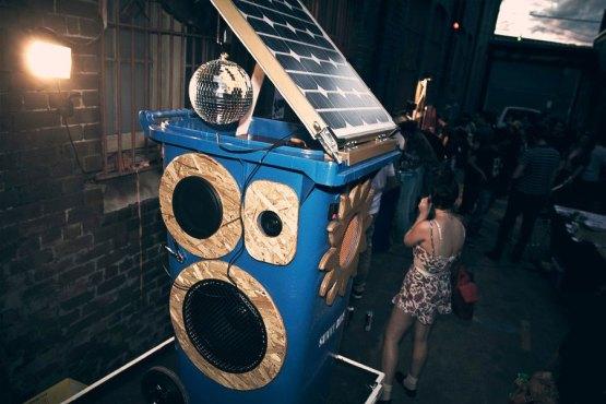 The Blue Whale Disco bin