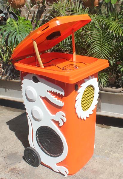 The Crocodile bin. Custom made models