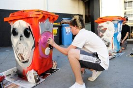 Sunny Bins supporting youth art projects