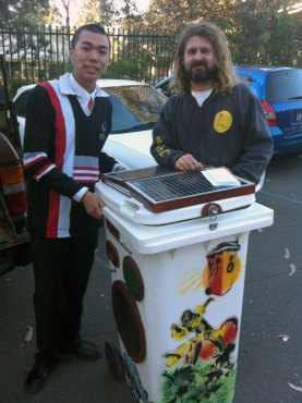 Cherrybrook High School Sunny Bin