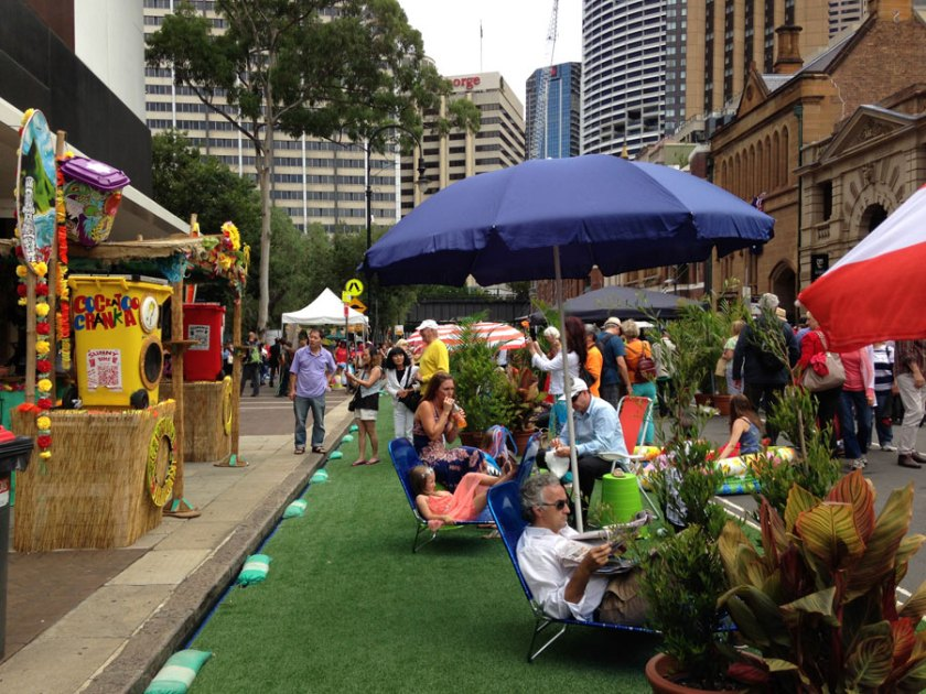 Cabana Tropicana at the Rocks 2014