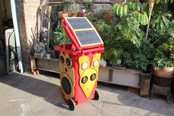 Owl bin sold to Communities NSW 2011