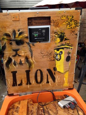 The Lion Bin ready to roar into action