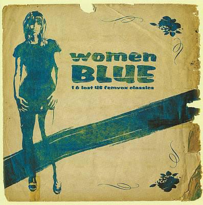 Various – Women Blue (16 Lost US Femvox Classics) 60's Folk Rock, Psychedelic Music Album Compilation