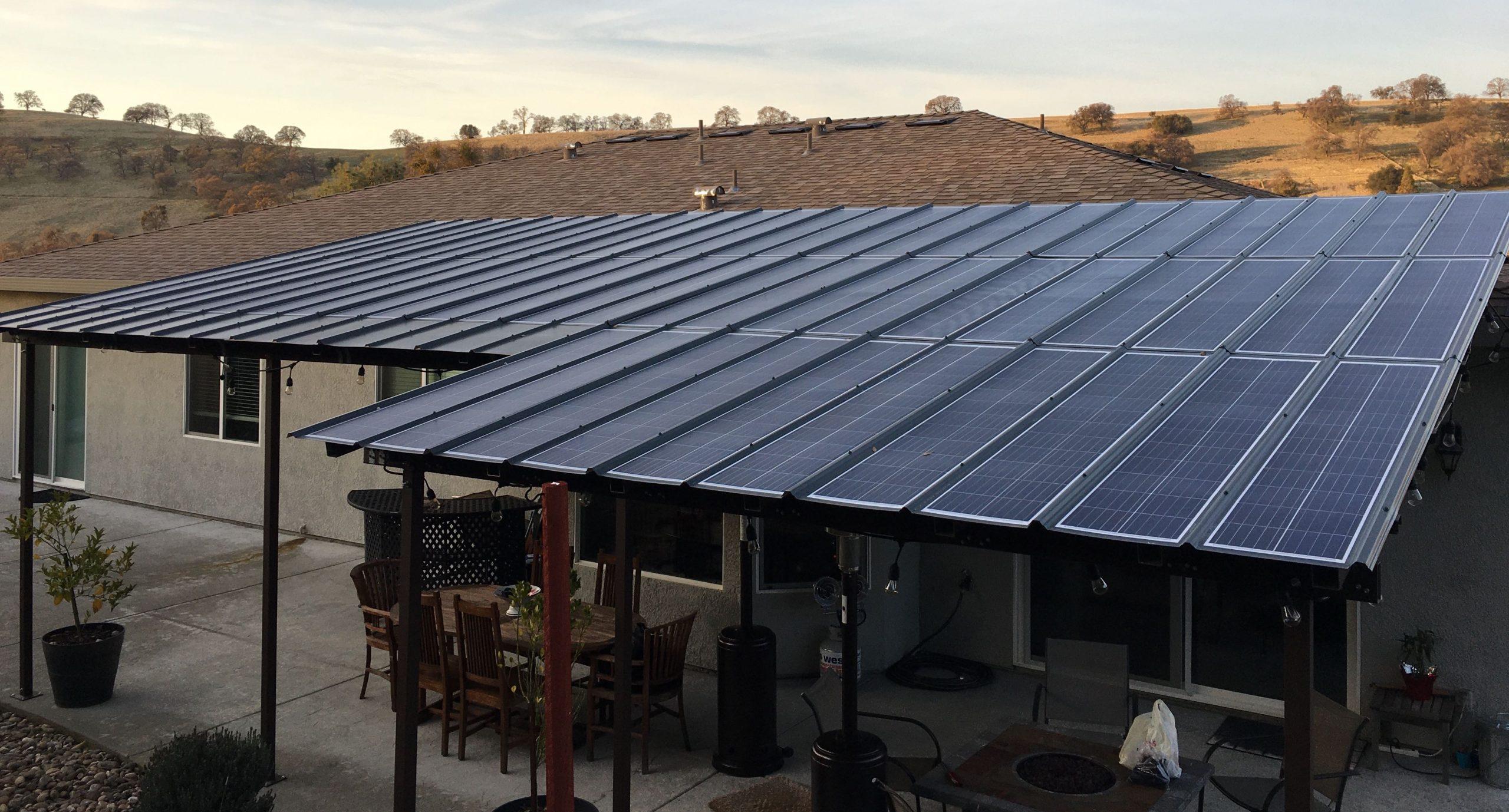 solar patio cover sunnycal solar inc