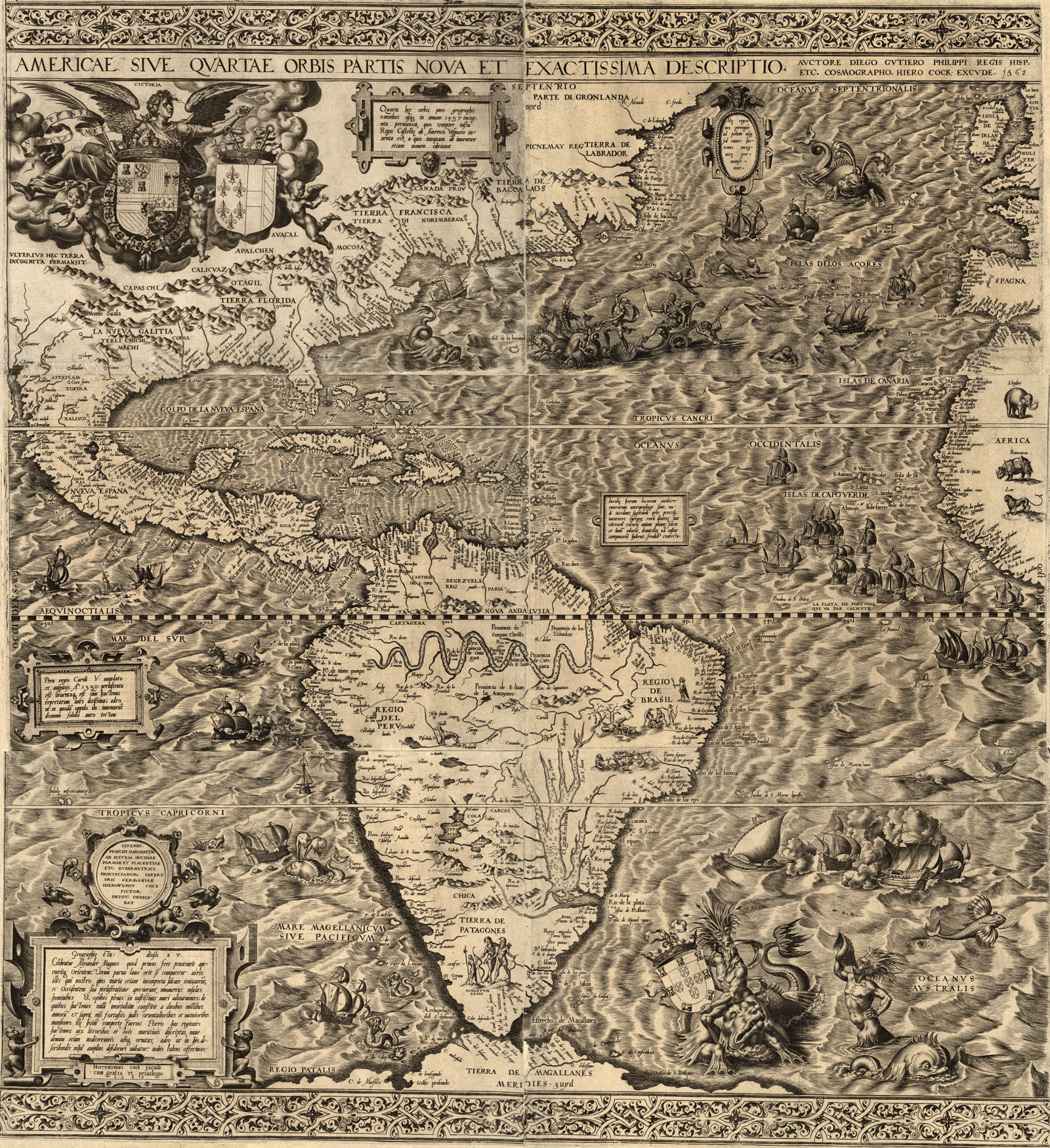 Maps Of Early Colonial America S