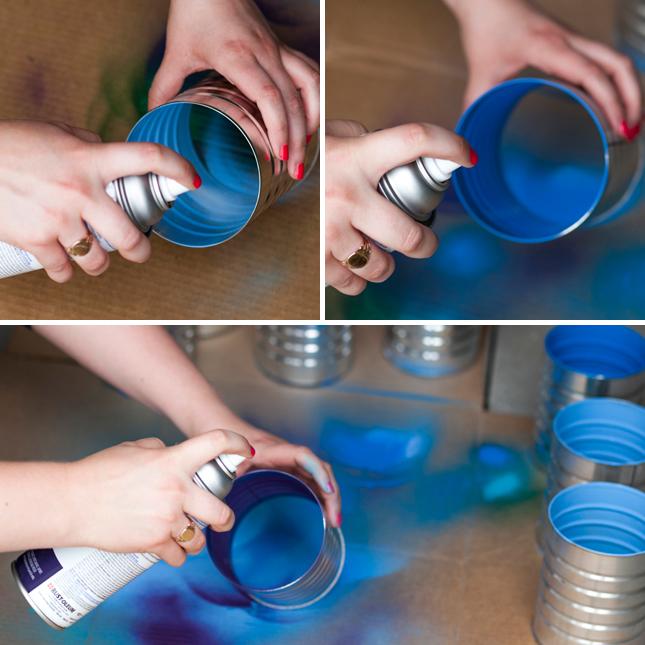 DIY ράφι κρασιών από κουτιά καφέ2