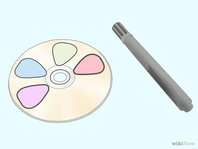 Make-Guitar-Picks-out-of-a-CD-Step-1