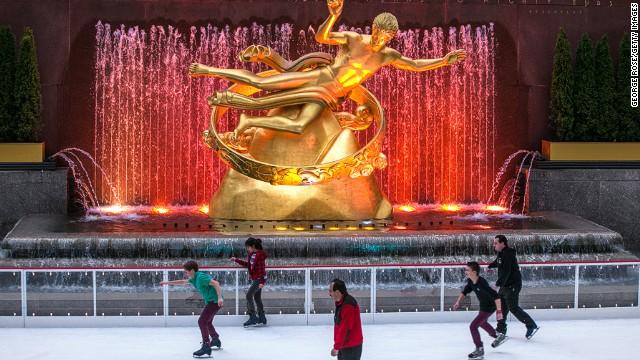 The Rink at Rockefeller Center, Νέα Υόρκη