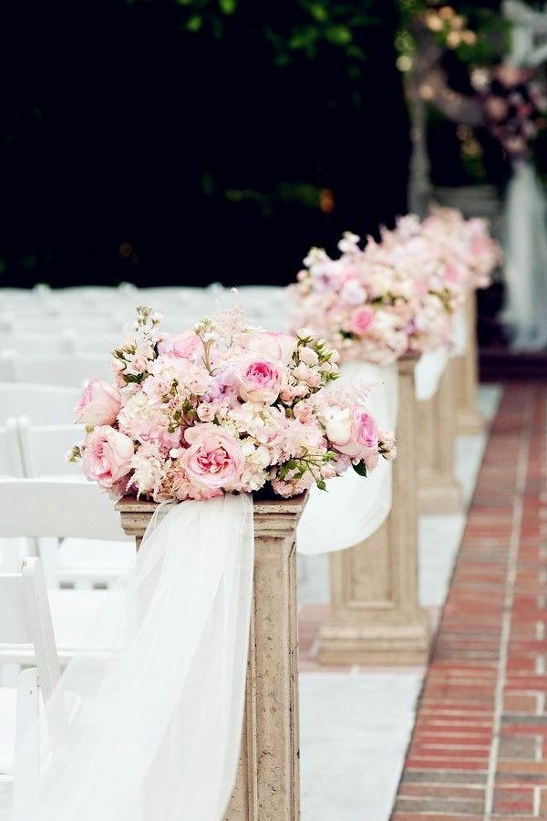 Εκπληκτικές ιδέες διακόσμησης με λουλούδια για το γάμο σας10