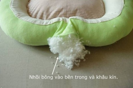 Μαλακό κρεβάτι για τη γάτα σας (το σχέδιο)4