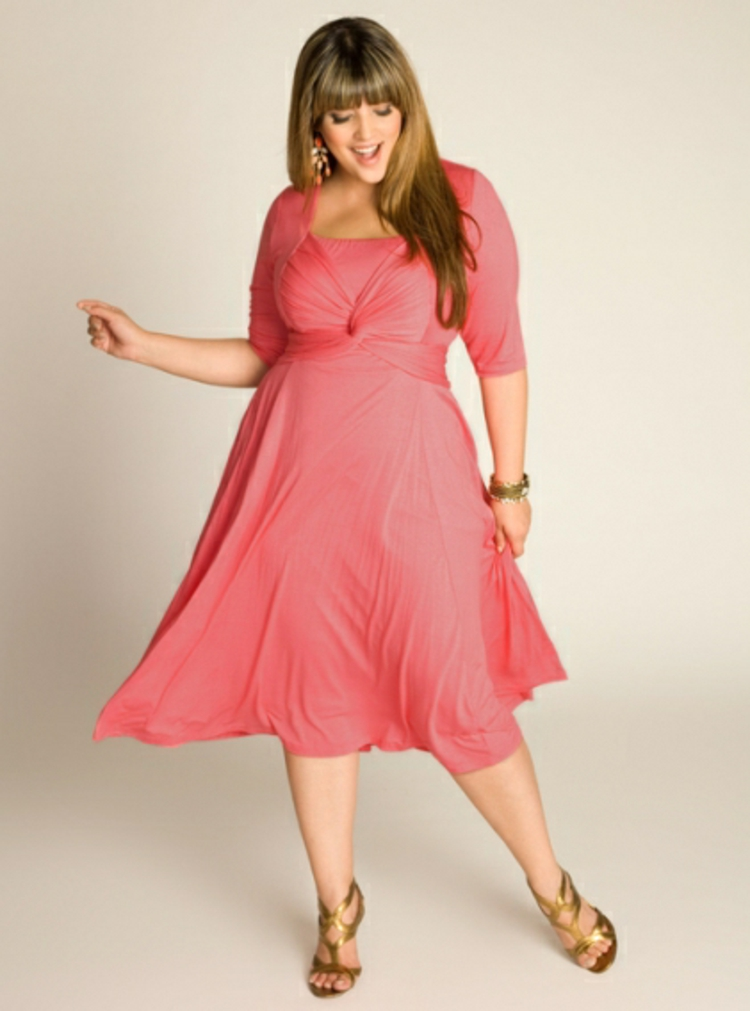 Φορέματα σε μεγάλα μεγέθη - μόδα για γυναίκες με καμπύλες44