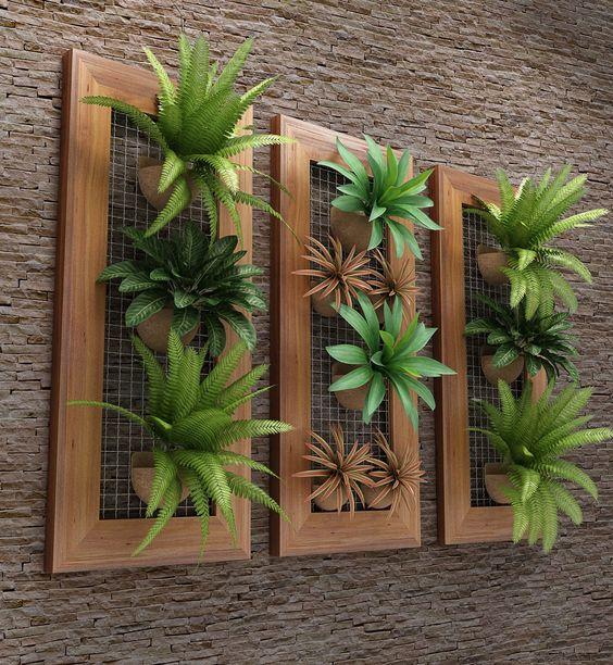 ιδέες διακόσμησης κάθετων επιφανειών με φυτά2
