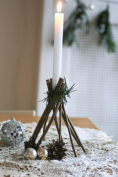 DIY διακοσμήσεις με κλαδάκια9