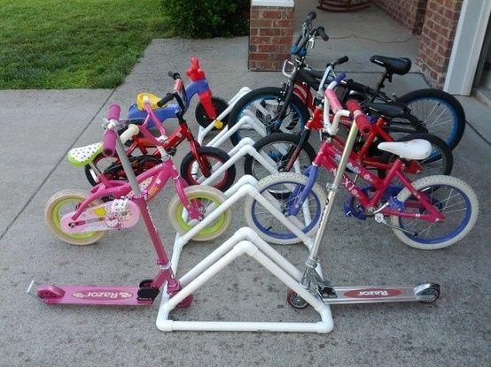 Diy Ιδέες για στάντ ποδηλάτου11