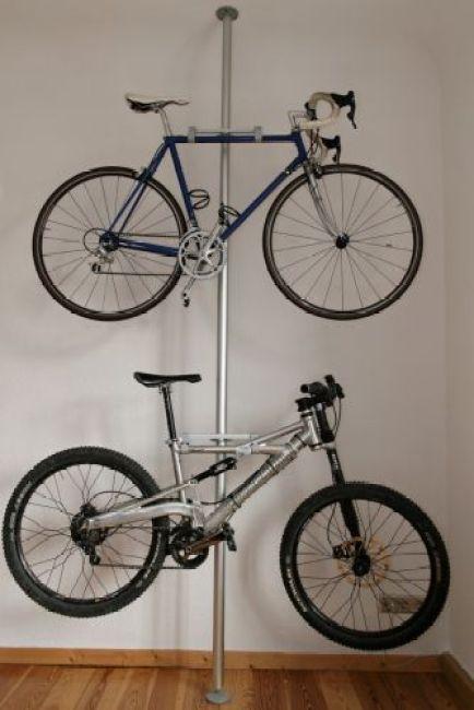 Diy Ιδέες για στάντ ποδηλάτου4