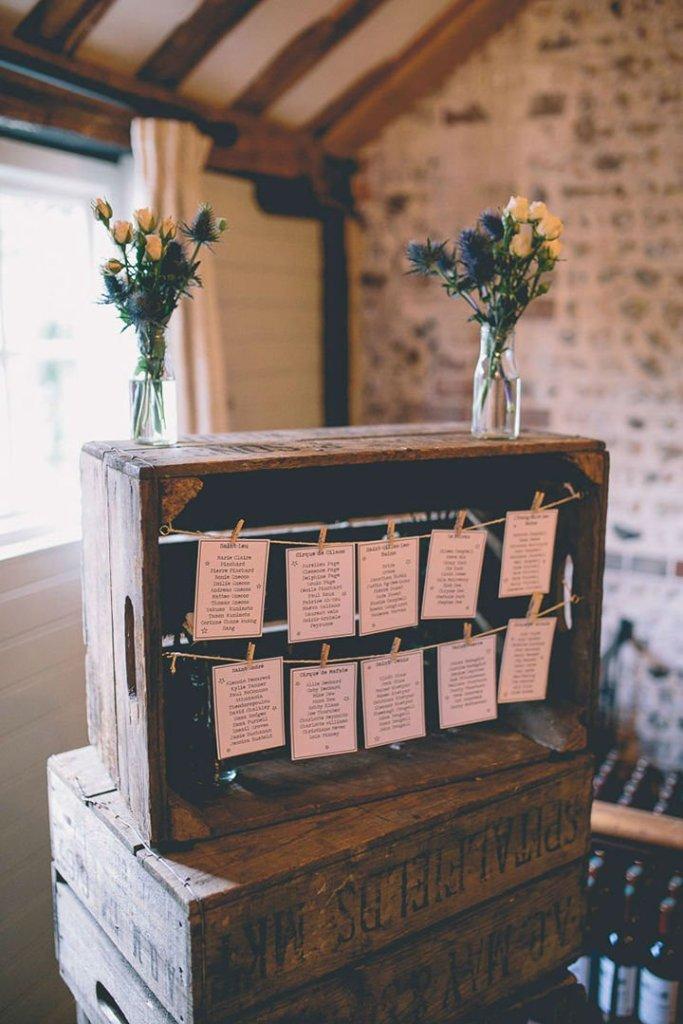 Ρουστίκ ιδέες διακόσμησης γάμου16