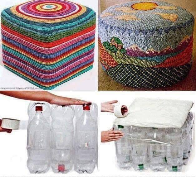 diy ιδέες με πλαστικά μπουκάλια2