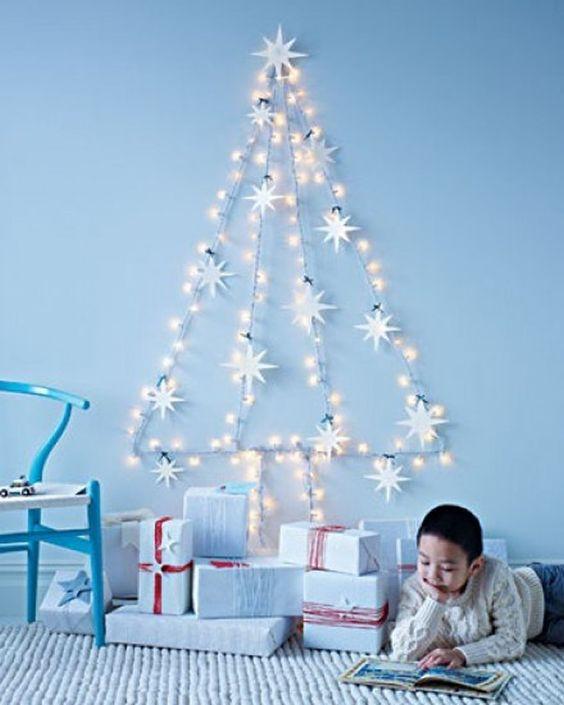 Χριστουγεννιάτικο δέντρο για μικρούς χώρους6