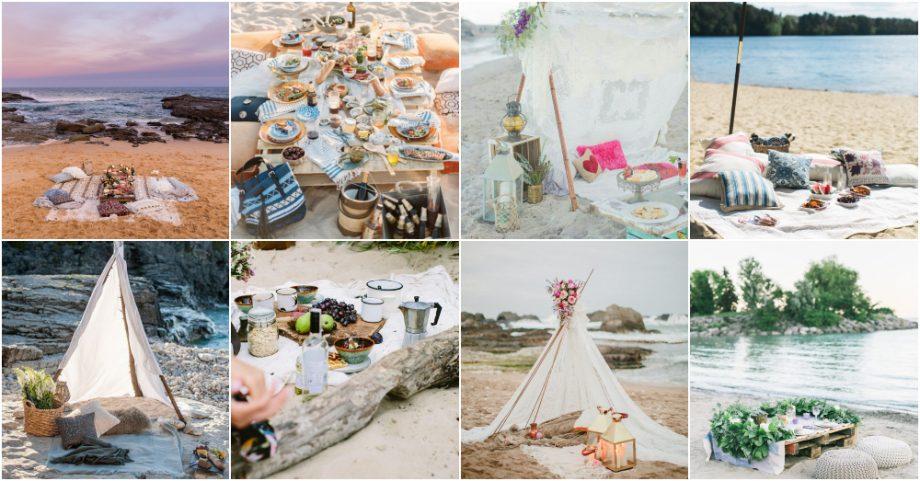 Τέλειες ιδέες για ένα ρομαντικό picnic στην παραλία