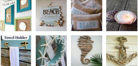 Αναζωογονητική DIY διακόσμηση με θέμα την παραλία για το σπίτι σας