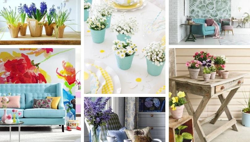 Μένουμε σπίτι: Πως θα φέρετε την άνοιξη στο σπίτι σας