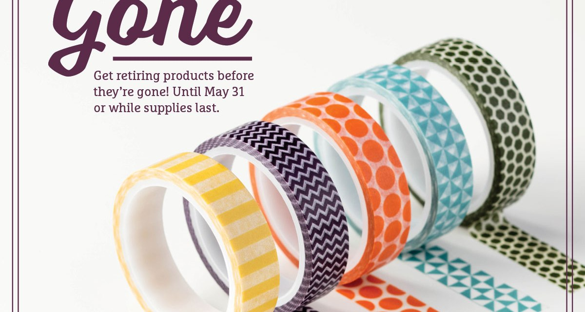 NEWS:  Stampin' Up! Retired Product List