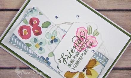 CARD: English Garden Designer Series Paper