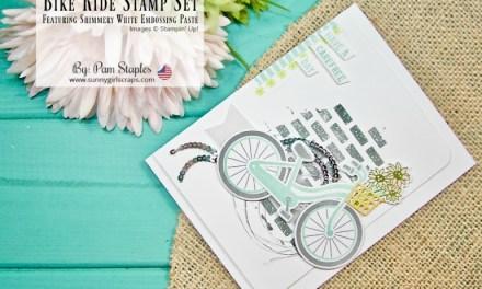 TCC #89: Spring has Sprung with Bike Ride Stamp Set