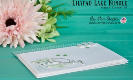 PCC297 – Happy Birthday Card with Lilypad Lake Bundle