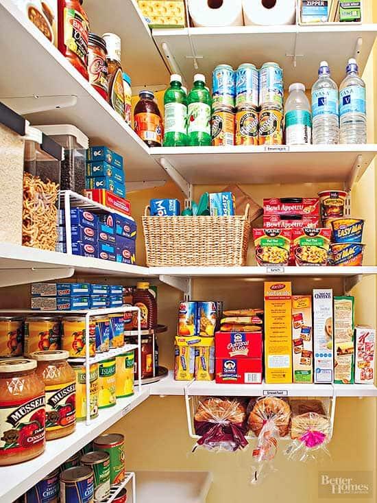 bread pantry storage