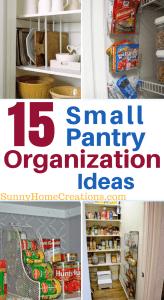 15 Small Pantry Organization Ideas