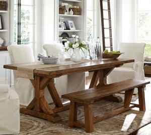 DIY Pottery Barn Knockoff Table