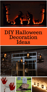 DIY Halloween Ideas to make you Halloween the best ever! Make some of these DIY decorations for your house this year.
