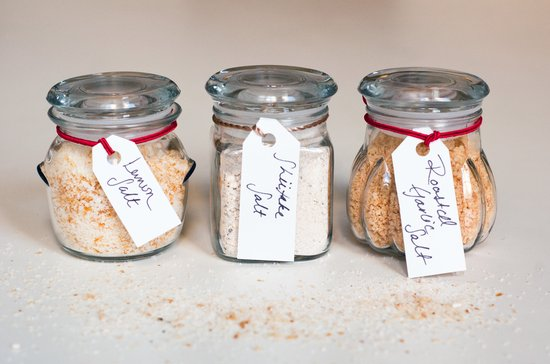 Flavored Salt to DIY Christmas Gift