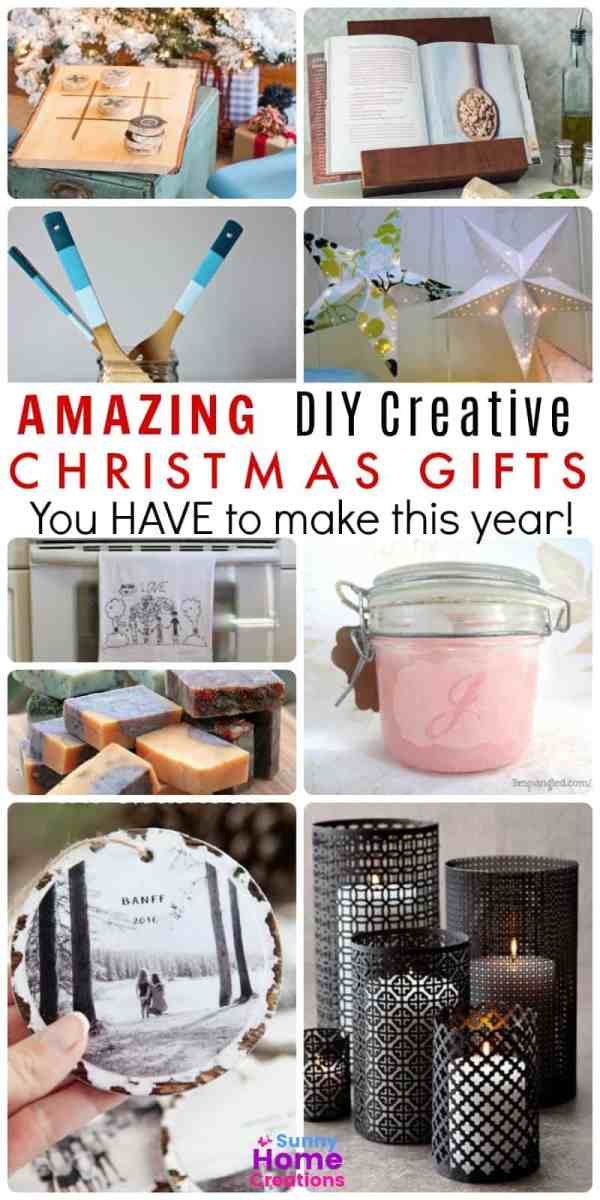 DIY Christmas Gifts to Make This Year