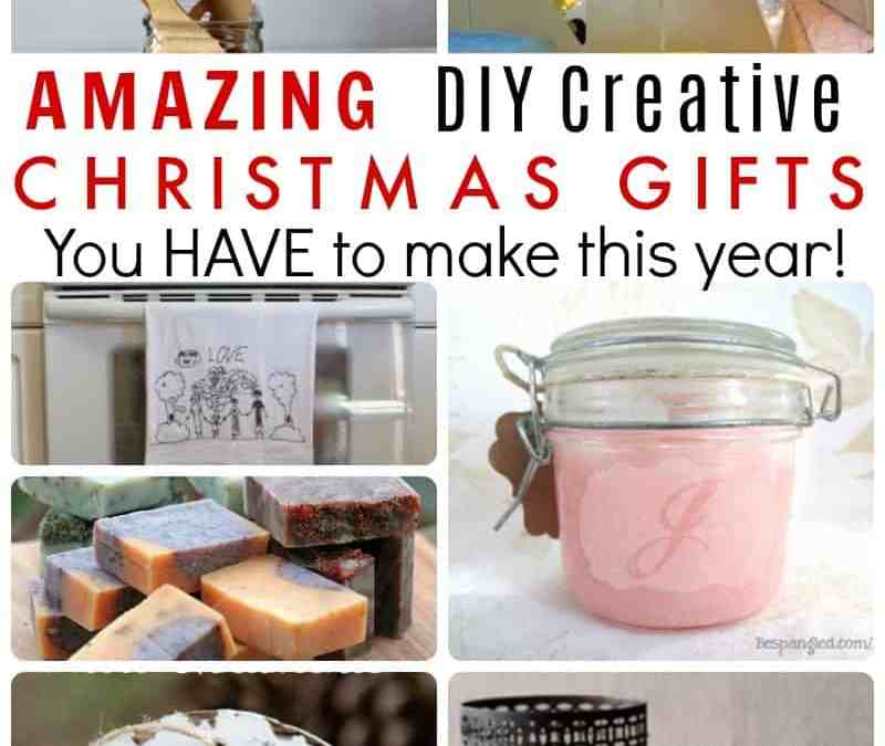 DIY Christmas Gifts to Make This Year