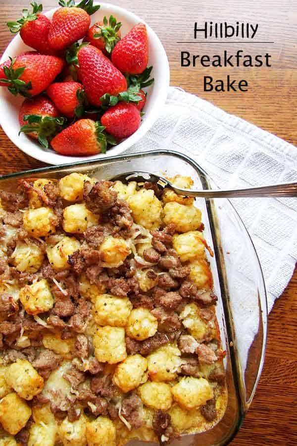 Easy Tator Tot Breakfast Casserole