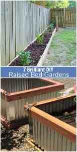 7 Brilliant DIY Raised Bed Gardens