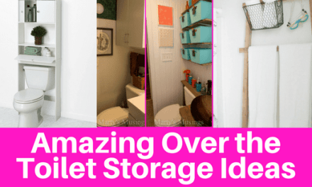 Amazing Over Toilet Organization Storage Ideas