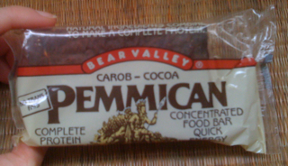 Bear Valley Pemmican Carob-Cocoa Food Bar